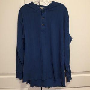 St. John's Bay Blue long sleeve shirt